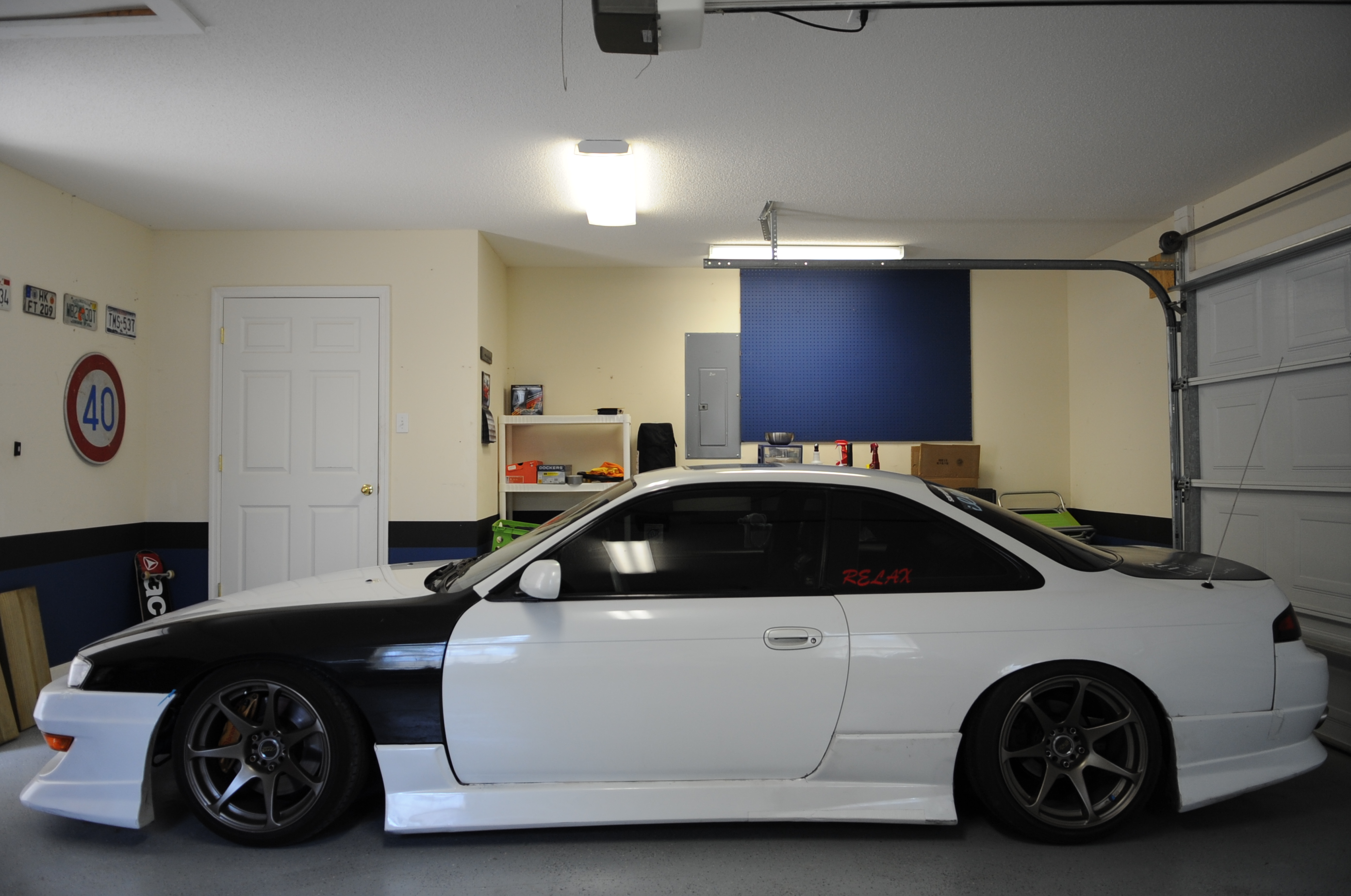 My kouki and tagged 240sx,